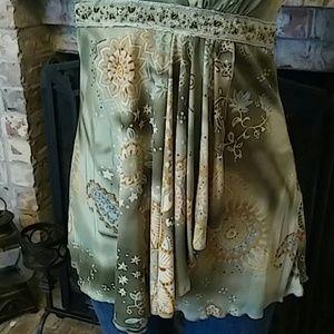 dressbarn Tops - Dressbarn Sleeveless Casual/Party Blouse - Large